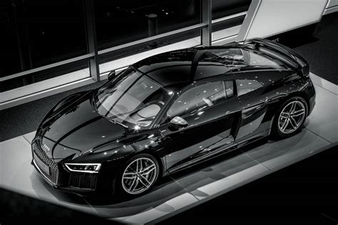 black audi stunning black 2016 audi r8 v10 at audi center frankfurt