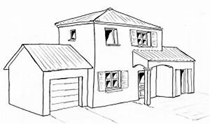 comment dessiner une maison en 3d 3 dessin de maison en With comment dessiner une maison en 3d