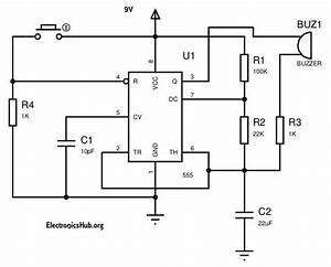 Working Of Panic Burglar Alarm Circuit
