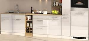 Küchenzeile Weiß Hochglanz : k chenzeile hochglanz weiss einbauk che mit elektroger ten k chenblock 330 cm ebay ~ Indierocktalk.com Haus und Dekorationen