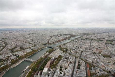 eiffel tower   hedges paris france stock image