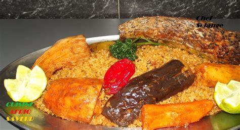 cuisine africaine le thiéboudienne
