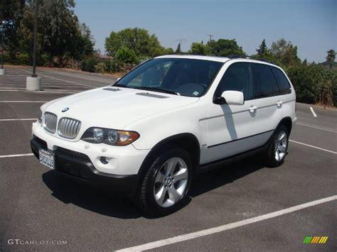 2006 Alpine White Bmw X5 4.4i #15864197