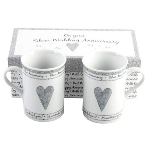 25th Silver Anniversary Gifts Great Ideas 25 wedding