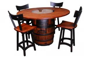 Dining Table Set 4 Chairs by Jack Daniels Pub Table Burress Furniture