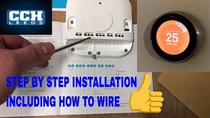 Nest Learning Thermostat Installation - How To Wire