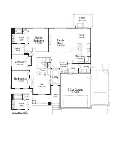 brighton homes floor plans pearland 1000 images about 3 bedroom rambler plans on
