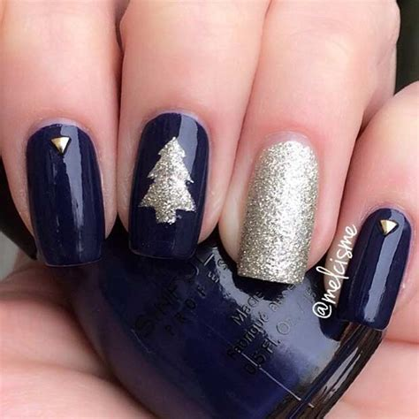 easy christmas  winter nail ideas crazyforus