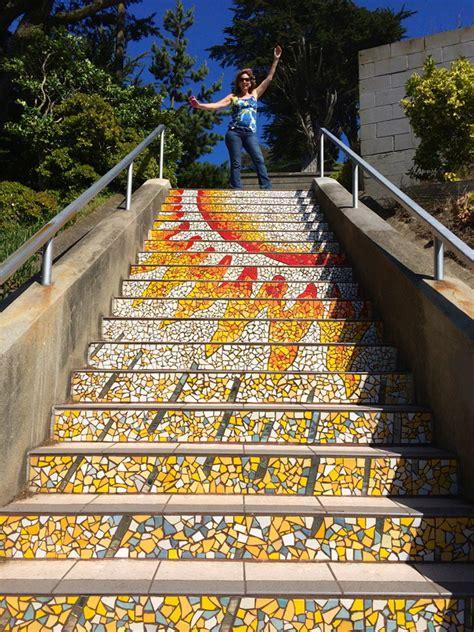 16th avenue tiled steps a hidden treasure in san francisco