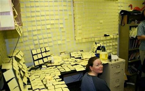 application post it bureau pictures of the best funniest office pranks practical