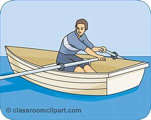 Row Boat clipart background - Pencil and in color row boat ...