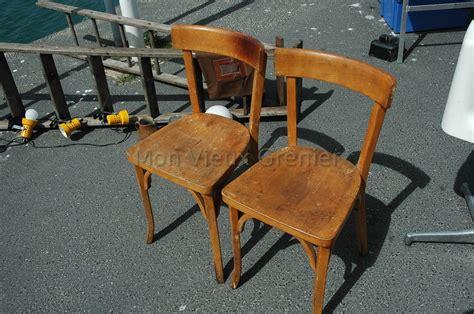 chaise bistrot baumann deux anciennes chaises en bois baumann mon vieux grenier