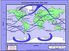 NASA to World Atlas of Solar Eclipse Paths