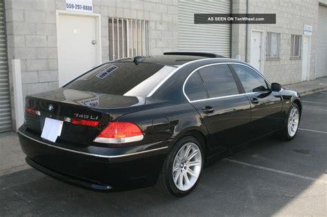 Bmw 745li by 2004 Bmw 745li Looks Great Luxury Edition 745i 7501 750li