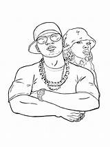 Coloring Rap Hop Hip Mycoloring sketch template