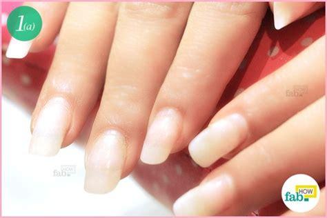 maintain acrylic nails  home fab