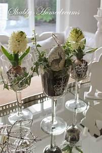 Blumen Deko Wohnzimmer : shabby homedreams ein hauch von fr hling deko pinterest g rten pflanzenk bel und fr hling ~ Indierocktalk.com Haus und Dekorationen