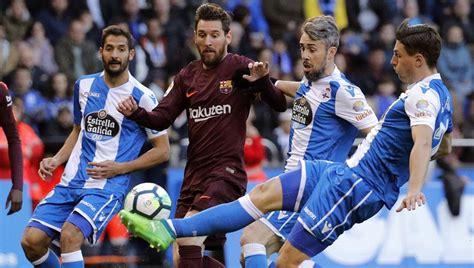 Deportivo - Barcelona: la Liga Santander de fútbol, hoy en ...