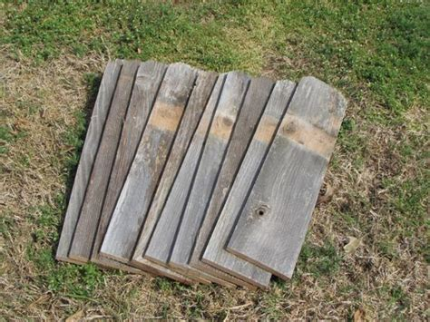 Reclaimed Old Fence Wood Boards With Dog Ears 5 Fence Boards