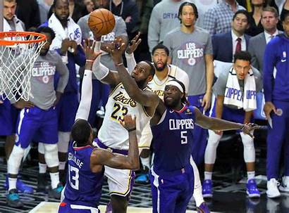 Lakers Clippers James Lebron Davis Lead Win