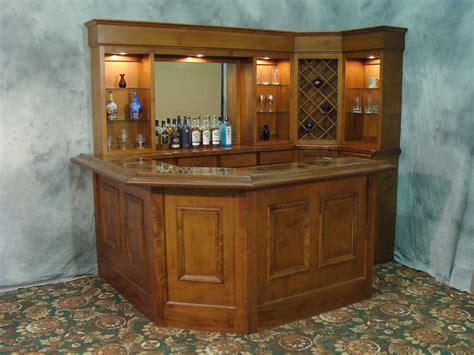 Corner Bar by Home Bars Custom Home Bars