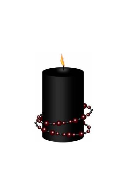 Transparent Candles Candle Halloween Goth Clipart Gothic