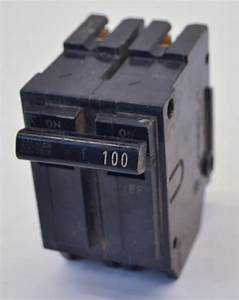 Ge General Electric Thql21100 2pole 100amp 120  240v Type
