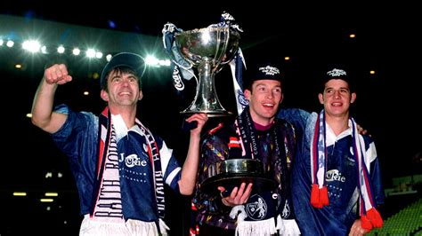 When Raith Rovers beat Celtic to win the League Cup in ...