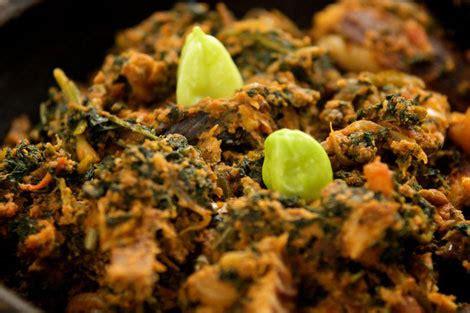 recette de cuisine togolaise gboma dessi