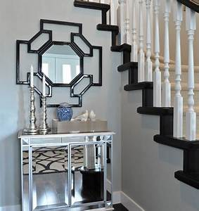 black cabinet transitional entrance foyer With kitchen cabinets lowes with foyer wall art
