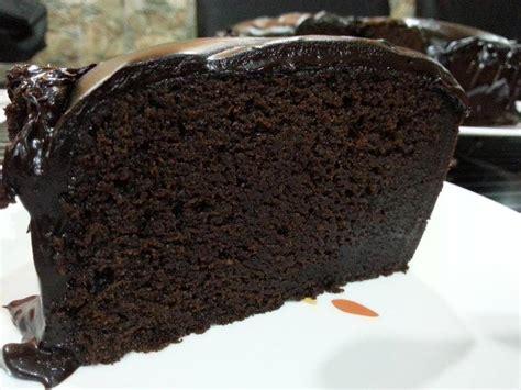 resepi kek coklat moist mudah  mixer pun