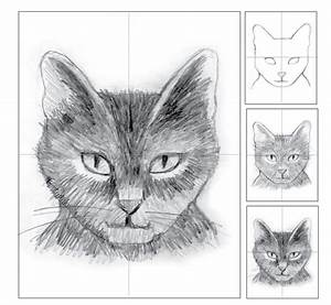 Cat Head Pencil Shading | Art Projects for Kids