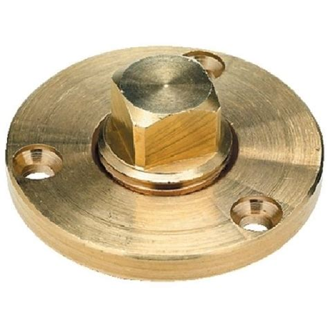 Boat Drain Plug Manufacturer by Cast Bronze For Corrosion Resistance Features A Nut Type