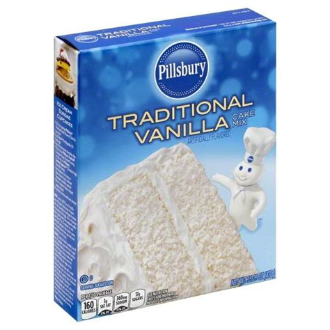 vanilla cake mix pillsbury traditional vanilla cake mix hy vee aisles online grocery shopping