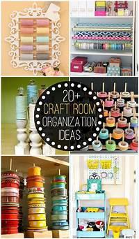 craft room organization ideas Home Organization Ideas