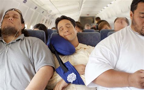 best airplane pillow this travel pillow will help you fall asleep when you re
