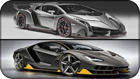 Vs Lamborghini by Lamborghini Centenario Vs Lamborghini Veneno