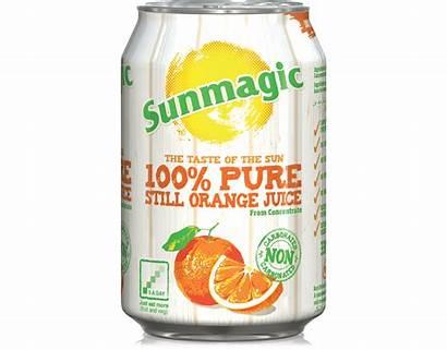 Sunmagic 330ml Orange Juice Core Hydra Drink