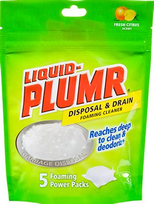 drain cleaners  kitchens bathrooms liquid plumr