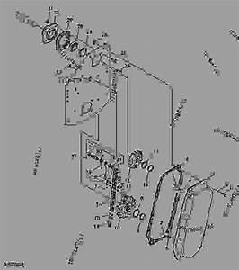 Lateral Transmission - Tiller  Pto John Deere Rt1149 - Tiller  Pto