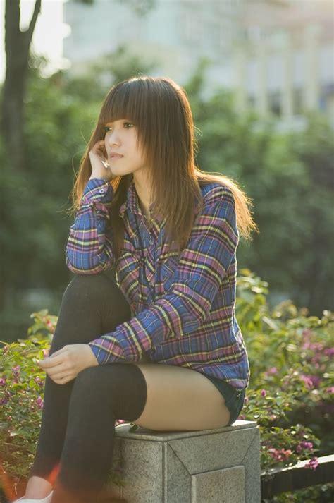 Free Photos: A Beautiful Korean Girl Posing Outdoors | Fashion