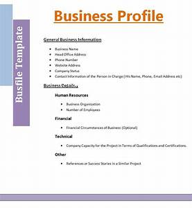 personal profile design templates - 8 business profile templates free word templates