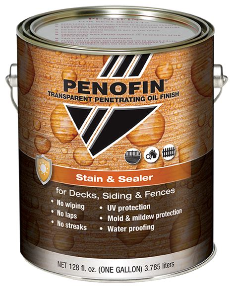 Penofin Deck Stain Application by Penofin Stain And Sealer 1 Gallon