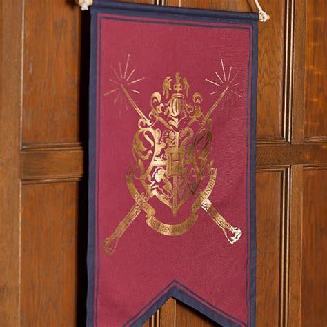 Custom medals & ornaments hand cast. HARRY POTTER™ HOGWARTS™ Crest Scroll | Wall Decor | Pottery Barn Teen