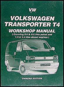download car manuals pdf free 1994 volkswagen eurovan lane departure warning vw transporter eurovan van shop manual 1990 1991 1992 1993 1994 1995 volkswagen ebay