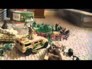 Plastic Army Men Fort Toy