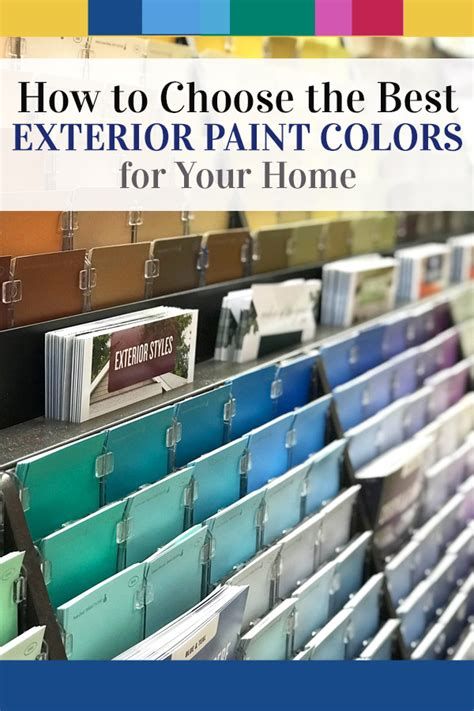 how i chose the color to paint the exterior of my house