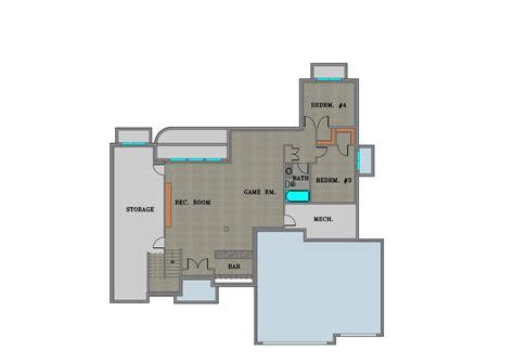 main floor master  bedroom  bath triple car garage