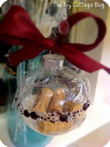 Wine Cork Christmas Ornament Ideas