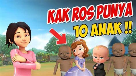 Kak Ros Punya Anak 10 , Upin Ipin Kaget ! Gta Lucu